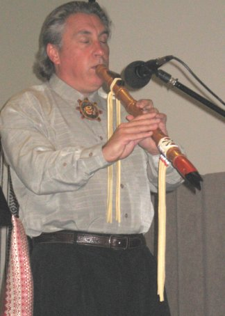 International flute recording artist, composer and cultural story teller. Gary Stroutsos