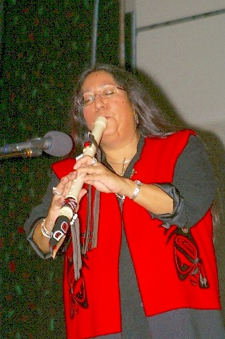 Native Flute Player - Mary Youngblood